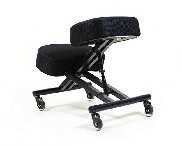 Sleekform Kneeling Chair with Adjustable Seat Angle - Ergonomic Kneeling Chairs