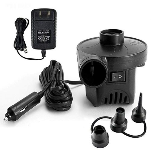 Electric Air Pump Portable Quick-Fill Inflation Device, Air Mattress Bed Pump - Electric Portable Air Mattress Pumps