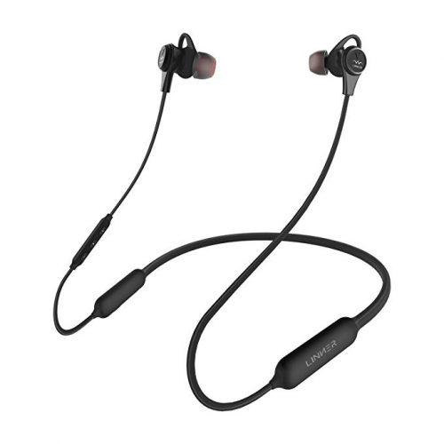 LINNER NC50 Neckband Magnetic Earphones - Bluetooth Neckband Headphones