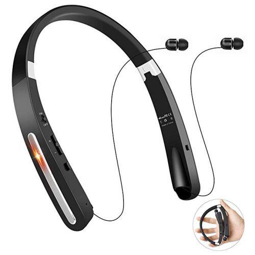 Bluetooth Headphones, TOCGAMT Wireless - Bluetooth Neckband Headphones