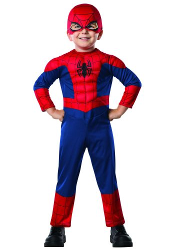 Rubie's Marvel Ultimate Spider-Man Toddler Costume Toddler - Spiderman Costume for Kids