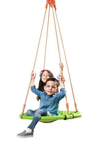 SLIDEWHIZZER Outdoor Tree Swing - Durable Steel Frame - Tree Swings