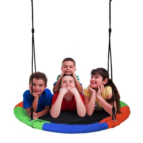 Extra Large Tree Swing, Children's Colorful Swing - Tree Swings