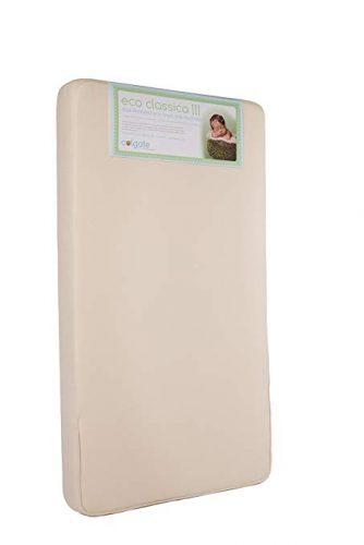 Colgate Eco Classica III Dual firmness Eco-Friendlier Crib mattress - crib mattress