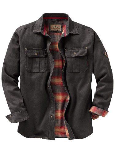 Legendary Whitetails Men's Rugged Shirt Jacket - utility jackets for men