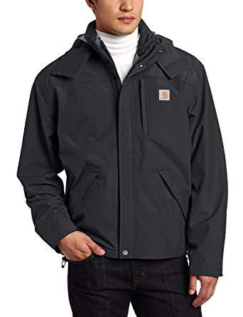Carhartt Men's Jacket Waterproof Breathable Nylon - utility jackets for men