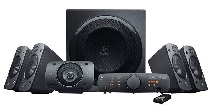 Logitech Z906 5.1 Surround Sound Speaker System - 5.1 Channel Speakers