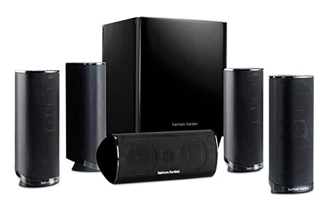 Harman Kardon HKTS 16BQ 5.1 Channel Home Theater Speaker - 5.1 Channel Speakers