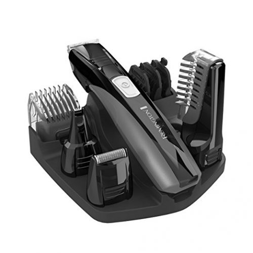 Remington PG525 Head to Toe Lithium Powered Body Groomer Kit - Christmas Gifts for Him