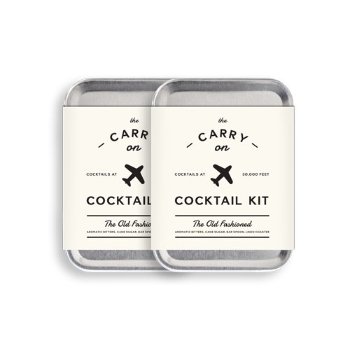 W&P MAS-CARRY-KIT-2 Carry on Cocktail Kit - Christmas Gifts for Him