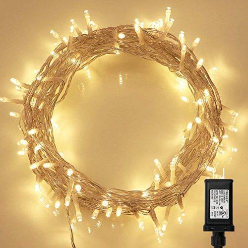 String Lights, 100 LED Indoor Fairy Lights - LED String Lights for Christmas