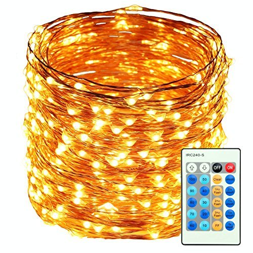 HaMi 66ft 200 LED String Lights,Waterproof Christmas Lights  - Christmas LED Wire Lights