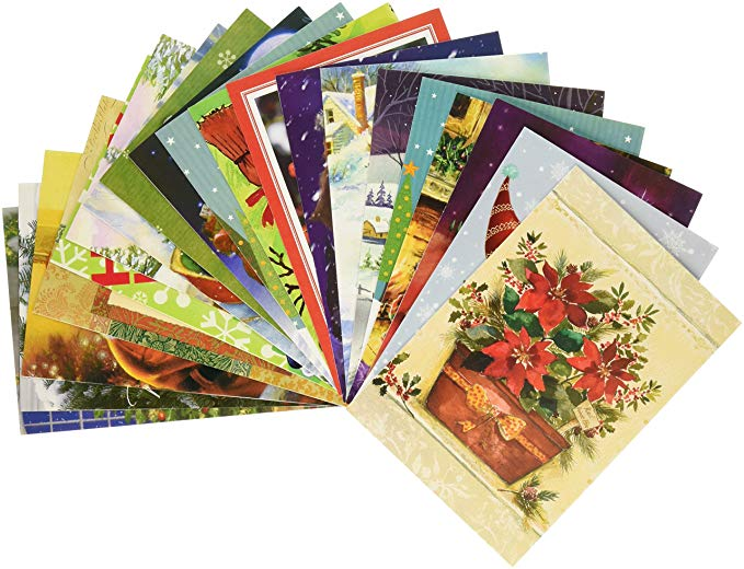 Traditional Christmas Holiday Greeting Cards - Christmas Greeting Cards