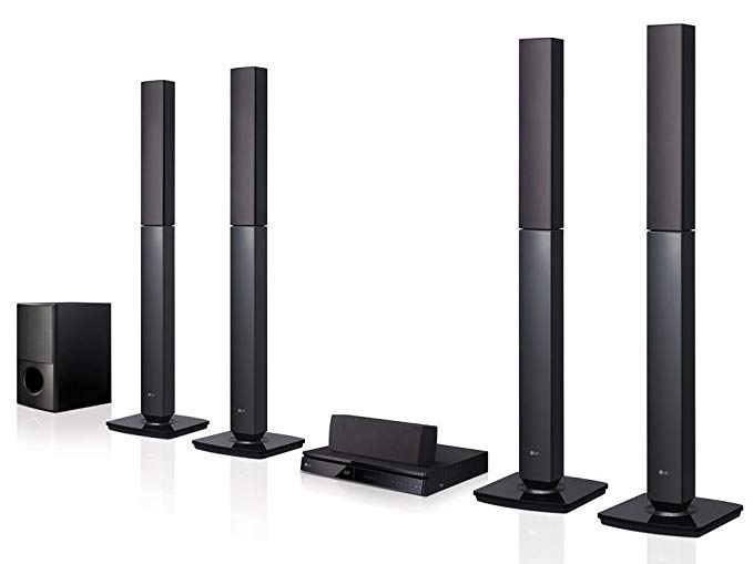 LG LHD657 Bluetooth Multi Region Free 5.1-Channel Home Theater Speaker - 5.1 Channel Speakers