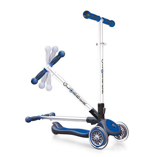 Globber Elite 3 Wheel Folding Adjustable Height Scooter - 3 Wheel Scooters