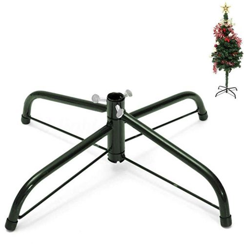 Maikerry Christmas Tree Stand for 6 to 8-Foot Trees - Christmas Tree Stand
