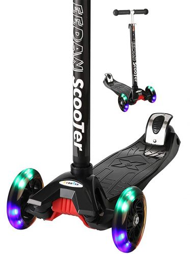 EEDAN Scooter for Kids 3 Wheel T-bar - 3 Wheel Scooters