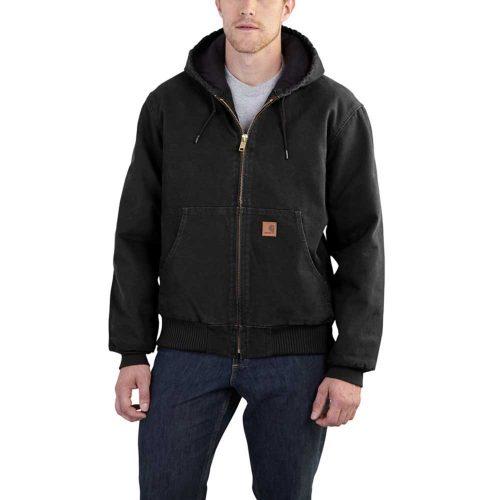 Carhartt Men's Sandstone Active Jacket J130 - utility jackets for men