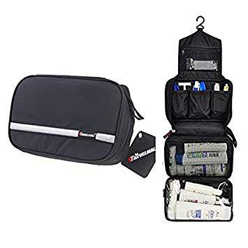 Travel Toiletry Bag Business Toiletries Bag Black - Men Toiletry Bags
