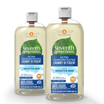 Seventh Generation Laundry Detergent, Ultra Concentrated EasyDose - Laundry Stain Removers