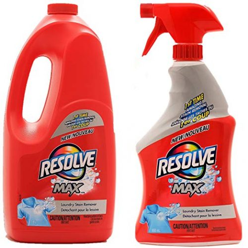 Resolve Max (Spray 'N Wash) Trigger & Refill Mega Value Pack - Laundry Stain Removers