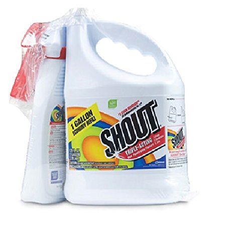Shout Stain Remover with Extendable Trigger Hose - Laundry Stain Removers