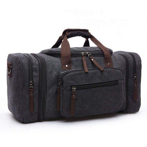 Toupons Canvas Travel Men's Weekender Duffle Bag - Weekender bag for men