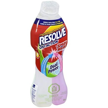 Resolve Oxi-Action Dual Power Pre Treatment Stain Remover - Laundry Stain Removers
