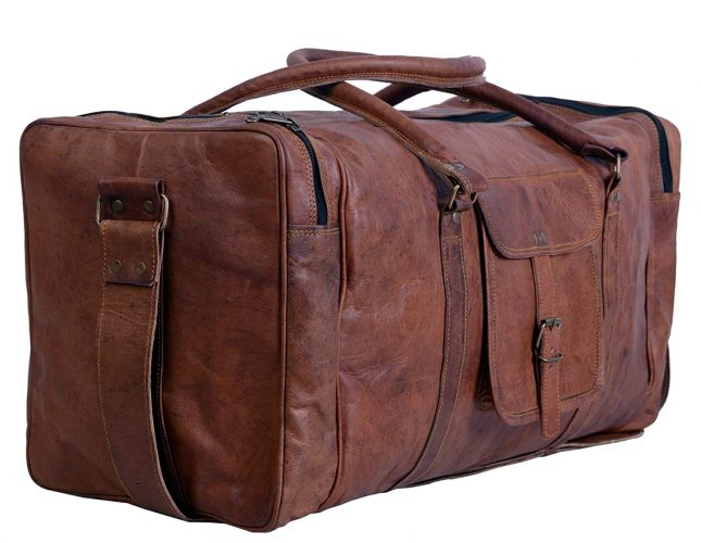 Komal's Passion Leather - Weekender bag for men