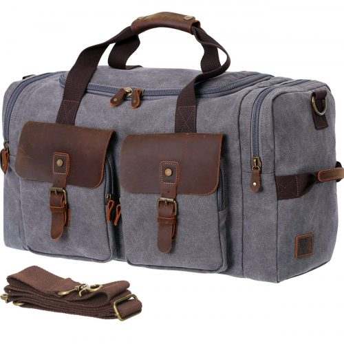 WOWBOX Duffle Bag - Weekender bag for men