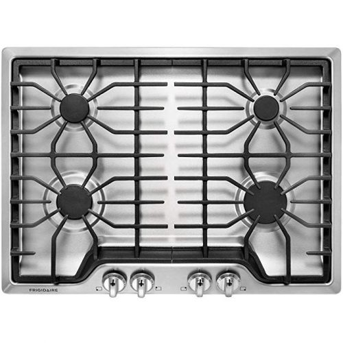 """Frigidaire FFGC3026SS 30"""" Gas Sealed Burner Style Cooktop - Gas Cooktops"""