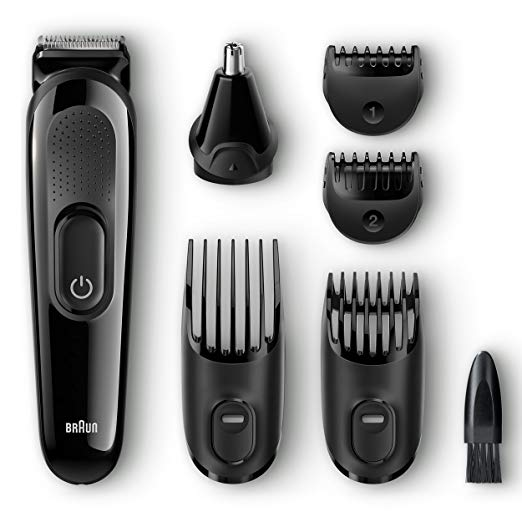 Braun MGK3020 Men's Beard Trimmer for Hair/Hair Clippers - Hair Clippers for Men