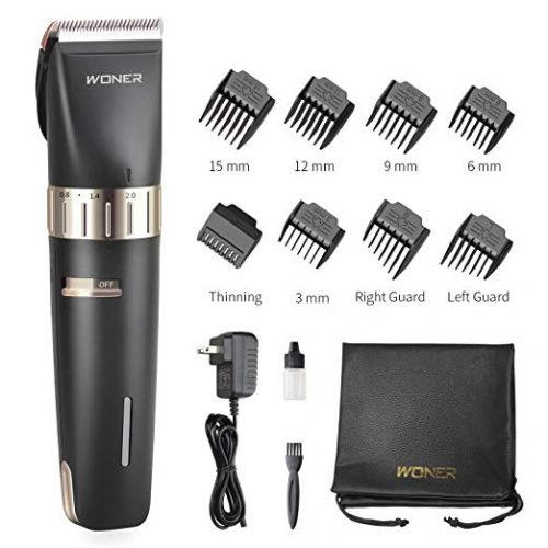 WONER Hair Clippers Cordless Hair Trimmers Beard Trimmer - Hair Clippers for Men