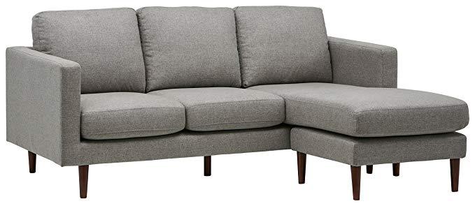 Rivet Revolve Modern Reversible Chaise Sectional - Corner Sofa (L shape sofa)