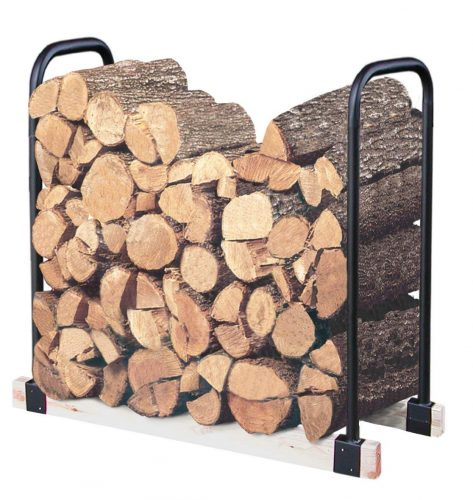 Landmann USA 82424 Adjustable Firewood Rack, Up to 16-Feet Wide