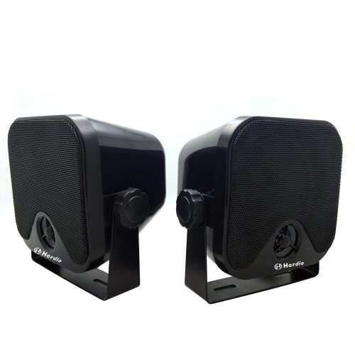 "4"" Heavy Duty Waterproof Boat Marine Box Outdoor Speakers - marine speakers"
