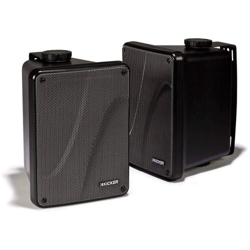 "Kicker KB6000 6.5"" Full Range Black 11KB6000B - marine speakers"