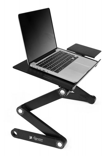 - laptop stands for bed