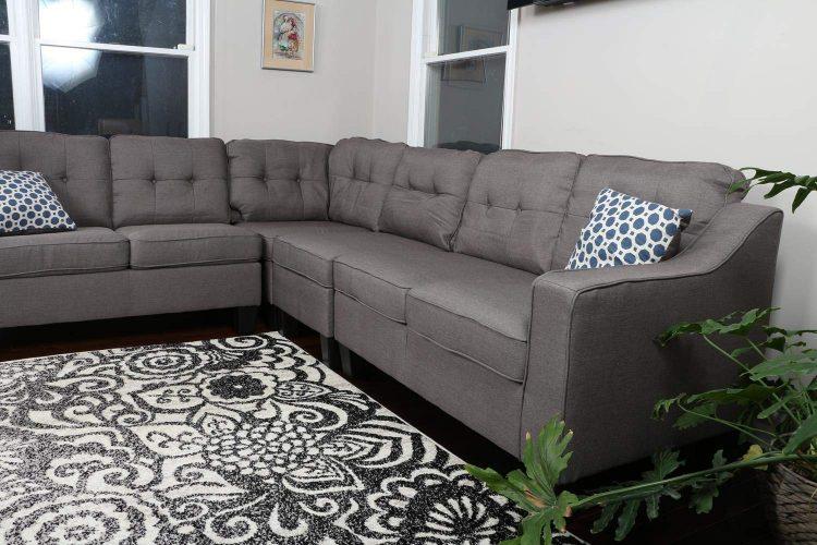 Oliver Smith Fur Dropship- Corner Sofa (L shape sofa)