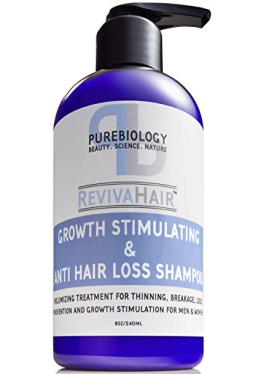 Hair Growth Stimulating Shampoo (Unisex) with Biotin - Hair Regrowth Product for Women