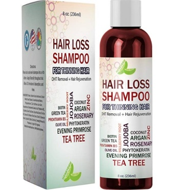 Best Hair Loss Shampoo Potent Hair Loss Fighting Formula - Hair Regrowth Product for Women