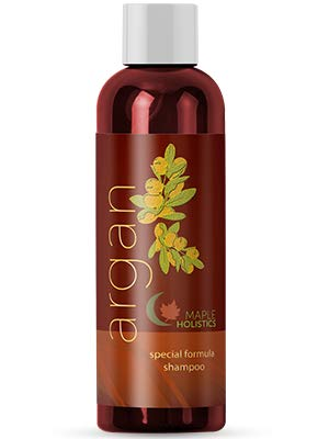 Argan Oil Shampoo, Sulfate Free, 8 oz. - Hair Regrowth Product for Women