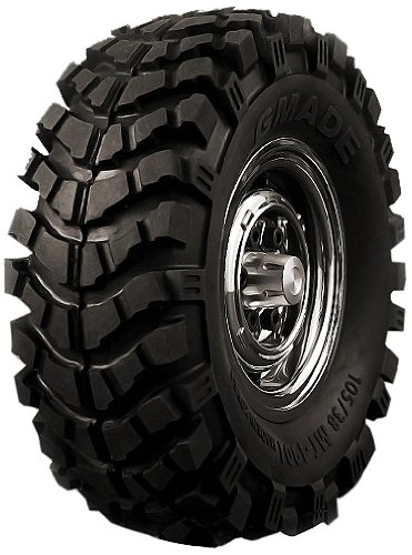 "Gmade 70164 1.9"" MT 1901 Off-Road Tires (2)"