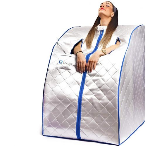 Loozys Rejuvenator Portable Infrared Home Sauna Spa | One Person Sauna for Detox & Weight Loss