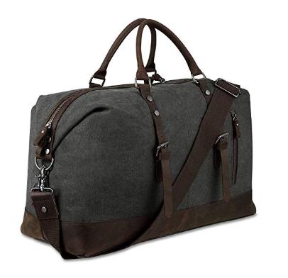 Canvas Overnight Bag Travel Duffel