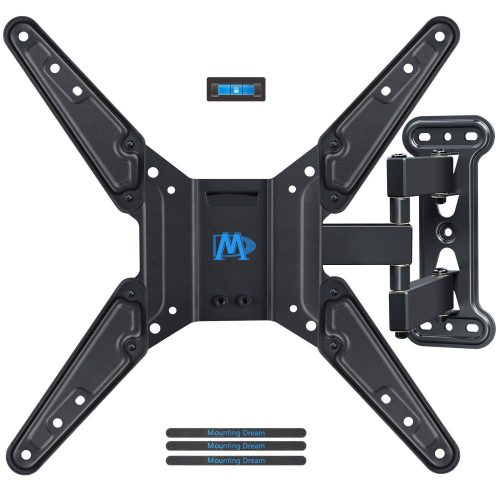 Mounting Dream Full Motion TV Wall Mount Bracket - Corner TV Wall Mounts