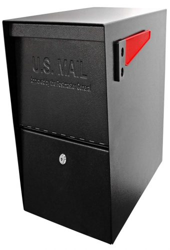 Mail Boss Package Master Security Mailbox, Black 7206
