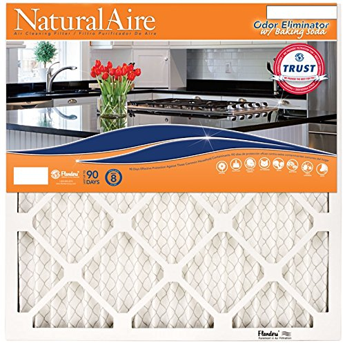 NaturalAire Odor Eliminator Air Filter with Baking Soda - AC Filters