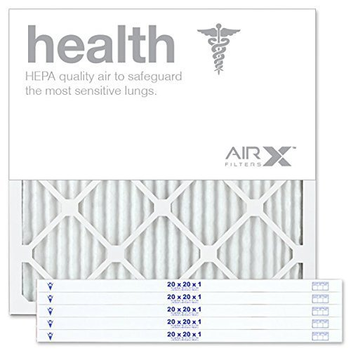 AIRx HEALTH 20x20x1 MERV 13 Pleated Air Filter - AC Filters