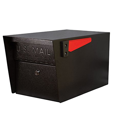 Mail Boss 7506 Mail Manager Locking Security Mailbox, Black